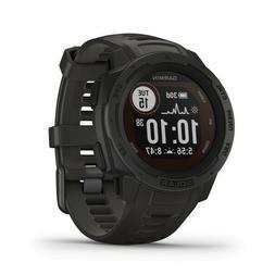 Garmin 010-02293-10 Instinct Solar Graphite Watch GPS Track