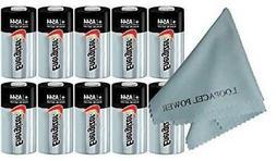 10 Energizer 4LR44 6 Volt Batteries