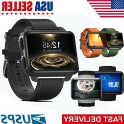 "2.2"" 3G WiFi Smart Watch GPS GSM SIM Android Phone Heart Rat"