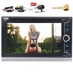 Eincar 2 Din 6.2'' Touch Screen Car Stereo With GPS Navigati