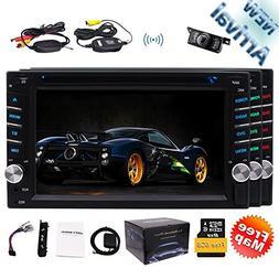 New Arrival!!! EinCar 6.2inch 2 Din Car DVD Player Stereo Ra