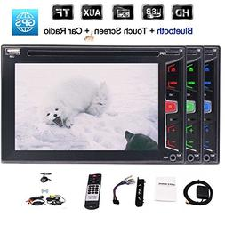 6.2 inch 2 Din in Dash Car DVD Player Autoradio Bluetooth St