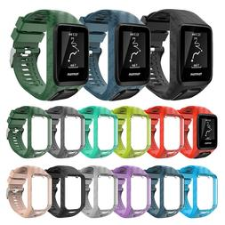 2 in 1 Silicone Replacement Wrist Band <font><b>Strap</b></f