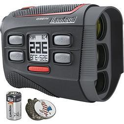 Bushnell Bundle   2018 Hybrid Golf Laser Rangefinder GPS + 2