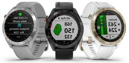 "2019 Garmin Approach S40 GPS Golf Watch 1.2"" Sunlight Readab"
