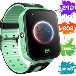 2019 Upgrade Kids Smart Watch Phone GPS Tracker for Boys & G