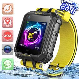 2019 UPGRADES Waterproof Kids Smart Watch Phone GPS Tracker