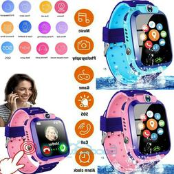 2020 NEW Waterproof Kids Smart Watch Anti-lost Safe GPS Trac