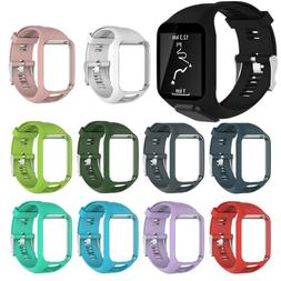 22MM Replacement Silicone Wrist  Band Strap For TomTom Adven