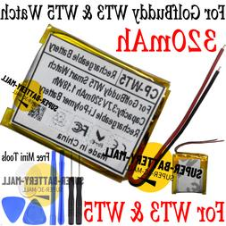 320mAh Replacement Battery for Golf Buddy WT3 / WT5 GPS Golf
