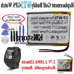 320mAh Rechargeable Battery For Golf Buddy WT5 Smart watch G