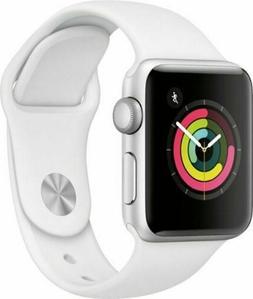 Apple 38mm Series 3 GPS  Watch - White