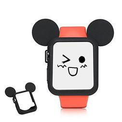 3D Mouse Ears Cartoon Character Case Soft Silicone Corner &