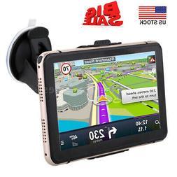 7'' Portable Car GPS Navigation Auto Navigator Nav 4GB 128MB