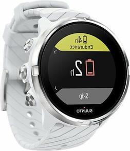 Suunto 9 G1 White Durable streamlined multisport GPS watch S
