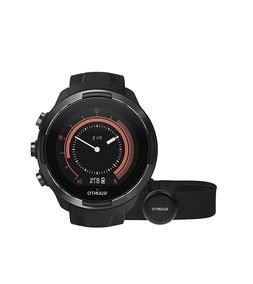 Suunto 9 GPS Watch G1, Black - Baro with HR Strap