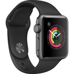 Apple Watch Series 2 Smartwatch 38mm Space Gray Aluminum Cas