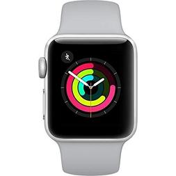 Apple Watch Series 3 38mm Silver Aluminum Case Fog Sport Ban