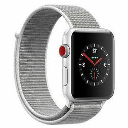 Apple Watch Series 3 42mm GPS + Cellular Silver Aluminum Cas