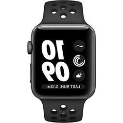 Apple Watch Series 3 Nike Plus 38mm Smart Watch Anthracite/B