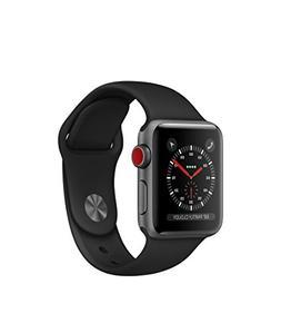 Apple watch series 3 Aluminum case Sport 38mm GPS + Cellular