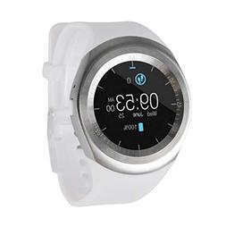 Axiba 2018 Bluetooth Smart Watch Phone Mate Full Round Scree