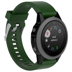 Becoler_ Watch Band For Garmin Fenix 5S Plus Band-Becoler Qu