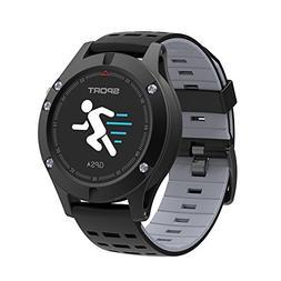 Bluetooth Sports Watch, GAKOV GAF5 Smart Waterproof Bracelet