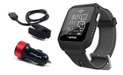 Callaway GPSy  Golf GPS Watch Bundle with PlayBetter USB Car