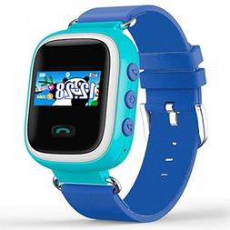 Cewaal Kids GPS Tracker Watch Kids Smart Watch with Flash Li