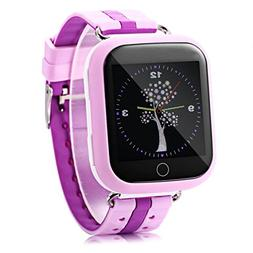 Cewaal Kids Smart Watch Q100 Kids SIM Wristband GPS Tracker