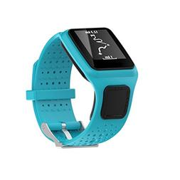 Coohole New Fashion Replacement Silicone Band Strap For TomT