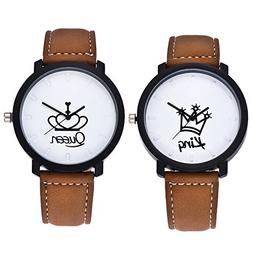 Cuitan Wristwatches Men's & Women's Wrist Watches , 2pcs Kin