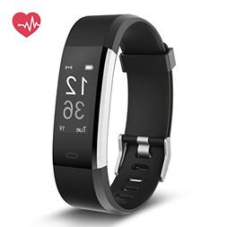 Delvfire Fitness Tracker HR, Activity Tracker with Heart Rat