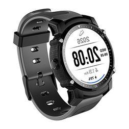 FS08 Bluetooth Smart Watch Waterproof IP68 Swim GPS Sports F