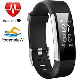 Fitness Tracker HR, Activity Tracker with Heart Rate/Sleep M