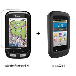 For Garmin Edge 1000 Case, Lamshaw Silicone Case with a Temp