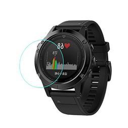 For Garmin Fenix 5 Screen Protector-Becoler 2pcs 9H+ Tempere