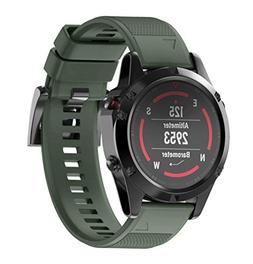 For Garmin Fenix 5 WristBand Fitness Replacement Silicagel V