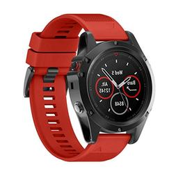 For Garmin Fenix 5X GPSAccessiory,Kshion Replacement Silicag