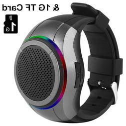 Frewico X10 Multifunctional Bluetooth Speaker Watch with LED