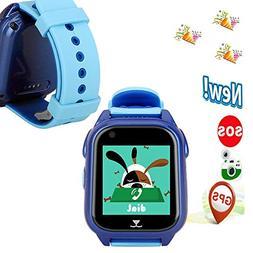 Hangang Phone Watch for Kids, GPS Kids Watch, GPS Watch for