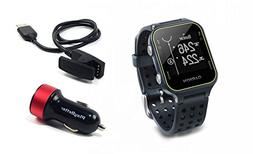 Garmin Approach S20  Golf GPS Watch with PlayBetter USB Car