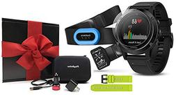 Garmin Fenix 5 Sapphire  Performer Bundle Gift Box | Include