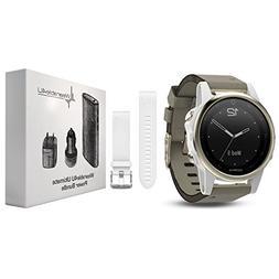 Garmin Fenix 5S Premium GPS Multisport Watch Ultimate Power