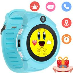 Kids Smartwatch with GPS Tracker Phone Remote Monitor Camera