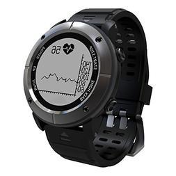 Hangang GPS Watch, Outdoor Sports Smart Watch Measuring Hear