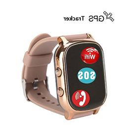 Hangang GPS Tracker For Kids Children Smart Watch Kids Wrist