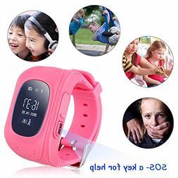 Hangang Kid Smart Watch GPS Tracker Wrist Phone Game Watch f