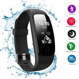 Helthyband Fitness Tracker, H107 Waterproof Activity Tracker